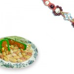 Pearl Rakhi and Pista Toss